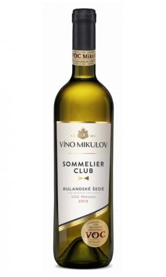 Víno Mikulov Sommelier Club Rulandské šedé 2015 VOC Mikulov