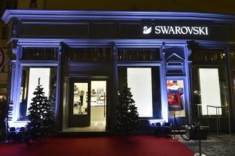 Swarovski představuje butik na Malém náměstí