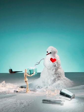 Tiffany odhaluje vánoční výlohy