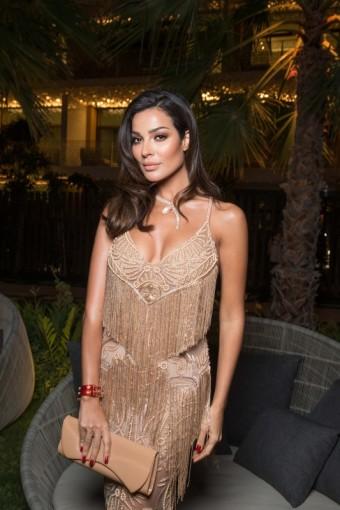 Nadine NASSIB NJEIM, otevření Bvlgari Resort Dubai, foto: David Atlan