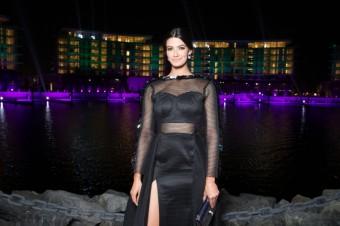 Tara EMAD, otevření Bvlgari Resort Dubai, foto: David Atlan