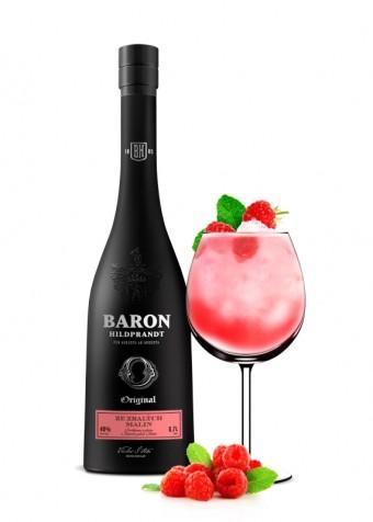 Malinový Baron Fizz, Baron Hildprandt, Premier Wines & Spirits