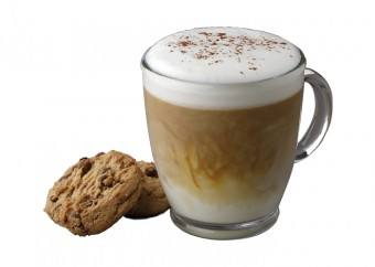 Cappuccino: Cookie Latte, Bageterie Boulevard