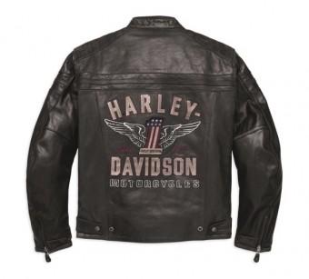 Pánská kožená bunda Harley-Davidson
