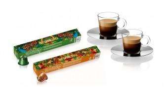 Limitované edice kávy Arabica Ethiopia Harrar a Robusta Uganda, Nespresso