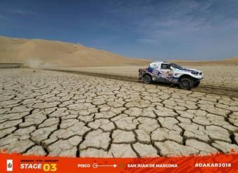 Třetí etapa Rallye Dakar, South Racing