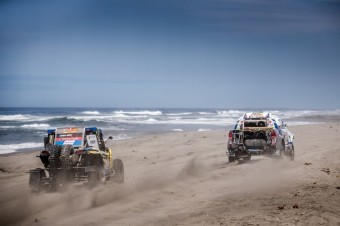 Čtvrtá etapa Rallye Dakar, South Racing