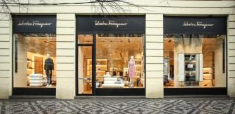 Nový butik Salvatore Ferragamo v Praze