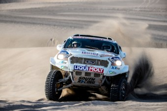 Pátá etapa Rallye Dakar, South Racing