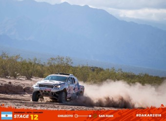 Dvanáctá etapa Rallye Dakar, South Racing