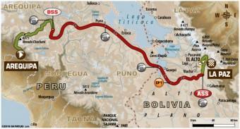 Dakar Rallye 2018, 6. etapa