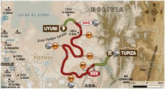 Dakar Rallye 2018, 8. etapa