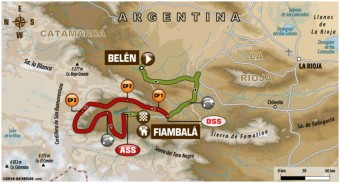 Dakar Rallye 2018, 11. etapa