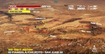 Dakar Rallye 2018, 12. etapa