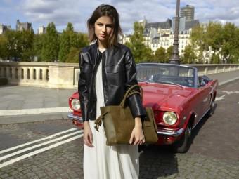 Longchamp Pénélope khaki
