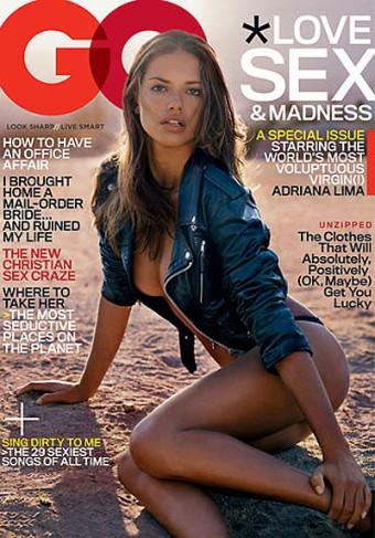 Modelka Adriana Lima - Menhouse.eu