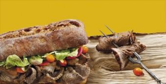Limitované menu Spécialité du Chef v podobě Jelení plece, Bageterie Boulevard