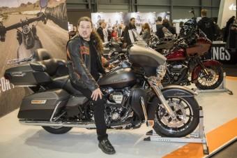 Zpěvák a ambasador Harley-Davidson, Honza Toužimský