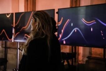 Unikátní instalace Philips TV na MBPFW v Clam-Gallasově paláci