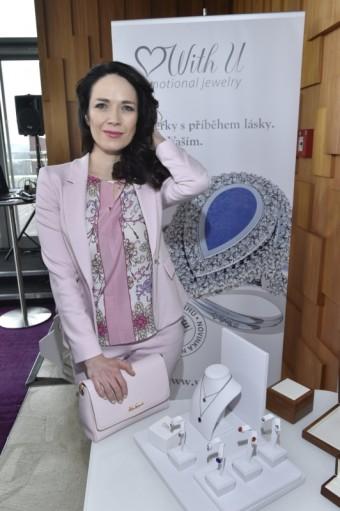 Tereza Kostková, představení kolekce značky WITH U, foto: WITH U