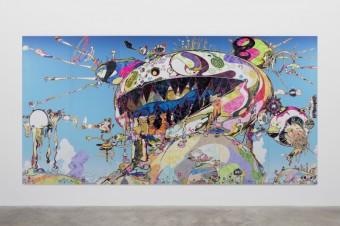 Takashi Murakami aka Gero Tan Noahs Ark 2016, 2016 Takashi Murakami Kaikai Ki Co Ltd, foto kredit: Fondation Louis Vuitton