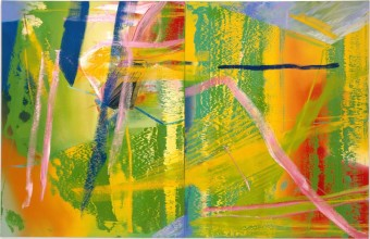 Gerhard Richter Lilak 1982, Gerhard_Richter, foto kredit: Fondation Louis Vuitton