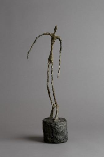 Alberto Giacometti Homme qui chavire 1950 Bronze, foto kredit: Fondation Louis Vuitton
