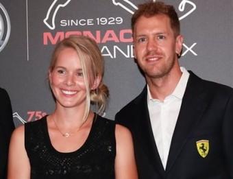 Sebastian Vettel s Hannou Praterovou na oslavách 75. výročí Velké ceny Monaka, zdroj: Profimedia