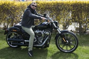 Rapper Marpo, nový ambasador Harley-Davidson, foto: Jan Altner