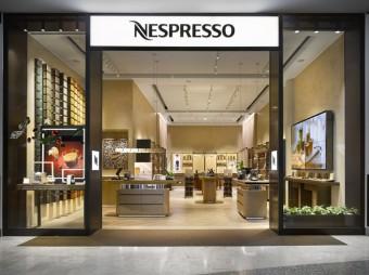 Nespresso Boutique v OC Nový Smíchov