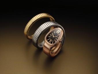 Náramek Tubogas, hodinky BULGARI Serpenti