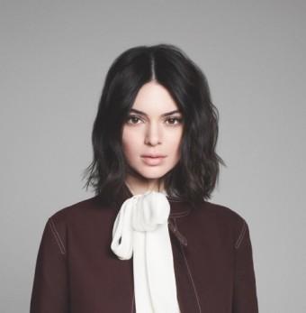 Kendall Jenner, nová tvář značky Longchmp pro kampaň a sezónu podzim - zima 2018