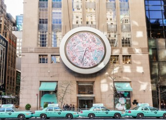 Tiffany & Co. maluje město New York na modro