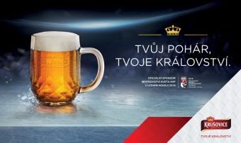 Královský pivovar Krušovice oficiální sponzor Mistrovství světa IIHF v ledním hokeji 2018