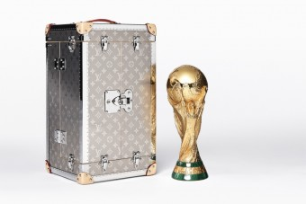 Louis Vuitton: FIFA WORLD CUP TROPHY TRAVEL CASE