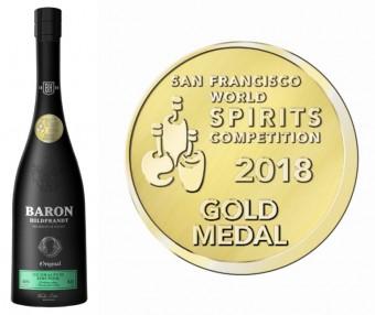 Baron Hildprandt ze zralých hrušek získal zlatou medaili v San Franciscu, foto: Premier Wines & Spirits