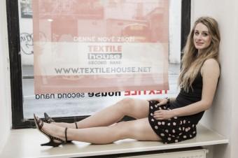 Třetí outfit Sabina Křováková, Textile House