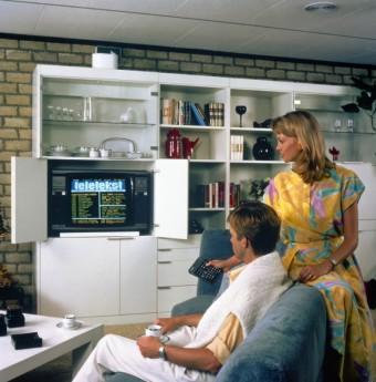 Van Neg, Teletekst, 1983, foto kredit: TP Vision