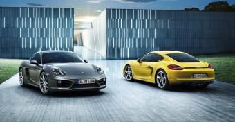 Nejvýkonnější auto roku 2013 - Porsche Boxster a Cayman