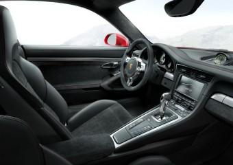 Interiér nového Porsche 911 GT3