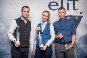 Národní finálové kolo soutěže elit® art of martini, foto kredit: Premier Wines & Spirits