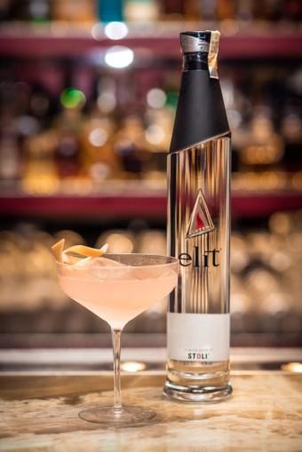 Greptini cocktail, Národní finálové kolo soutěže elit® art of martini, foto kredit: Premier Wines & Spirits