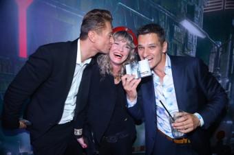 Chantal Poullain, Pavel a Miloš Staněk, foto: Potten & Pannen