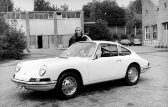 Model Porsche 911 z roku 1963