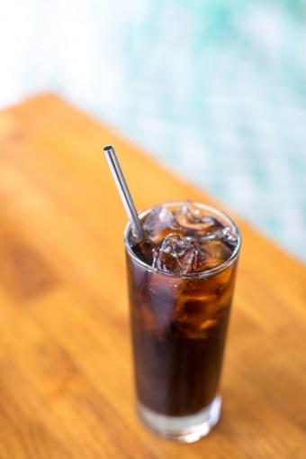 Kovové brčko míchaný nápoj, H&M