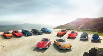 Modely legendárního auta Porsche 911, foto Porsche