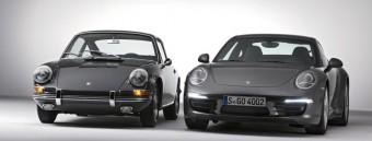 Porsche 911 Carrera 4S Coupé a Porsche 911 2.0 Coupé (rok výroby 1964)