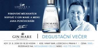 Jedinečný gastronomický zážitek s Gin Mare ve vinném baru Lodecká 4
