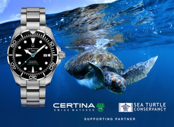 Hodinky DS Action Diver Sea Turtle Conservancy, Certina, foto: Design Trade