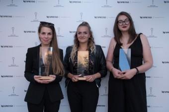 Vítězky české sekce filmové soutěže Nespresso Talents